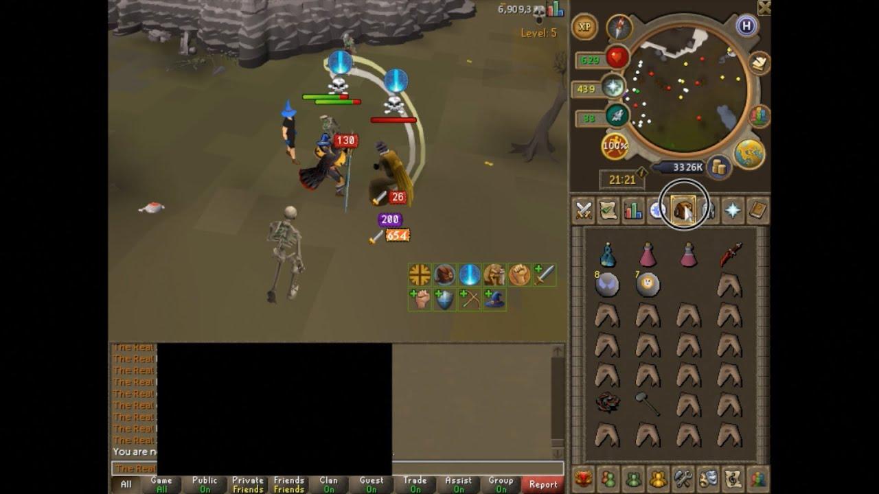 Runescape 3 Legacy Mode Pking Armadyl Godsword To Gmaul Pking
