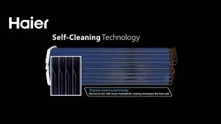 Haier air conditioning self cleaning technology