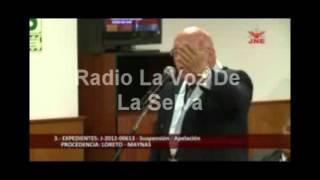 Pedido de Suspensión Charles Zevallos 24-07-12
