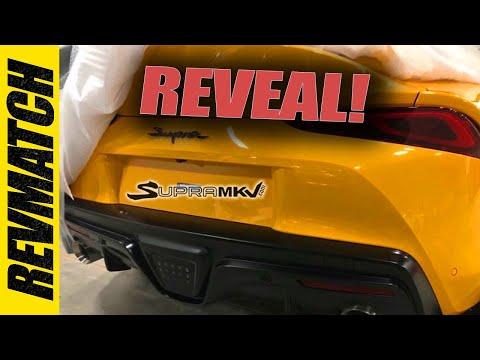 New 2020 Toyota Supra Interior - Leaked