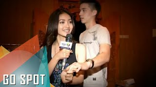 Natasha Wilona & Stefan William makin mesra di lokasi syuting [Go Spot] [22 Okt 2015] MP3