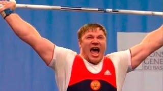 2007 European Weightlifting Championships, Men +105 kg \ Тяжелая Атлетика. Чемпионат Европы
