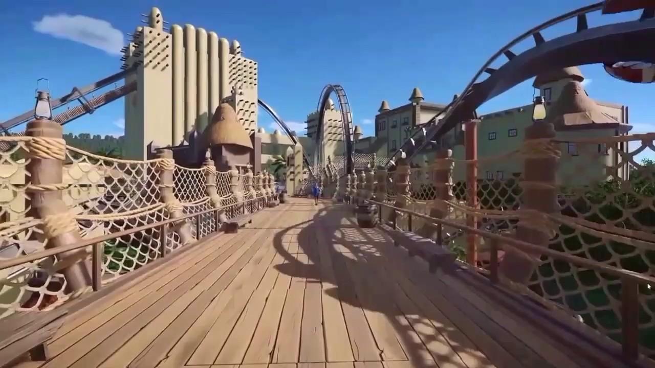 black mamba phantasialand nachbau planet coaster thrilltobi youtube