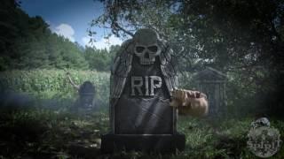 Reaching Arm Tombstone - Spirit Halloween