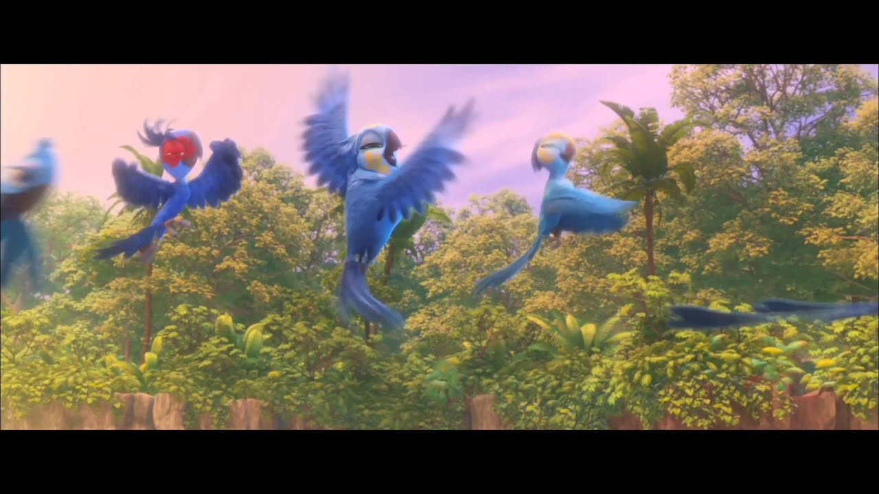 Rio 2 beautiful creatures official hd clip 2014 for Beautiful pictures