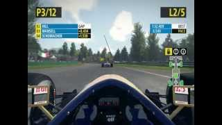 F1 2013 Classic Edition Gameplay Nigel Mansell - San Marino