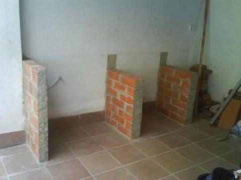 Base de cemento en cocina mantenimiento y for Cocinas de concreto forradas de azulejo