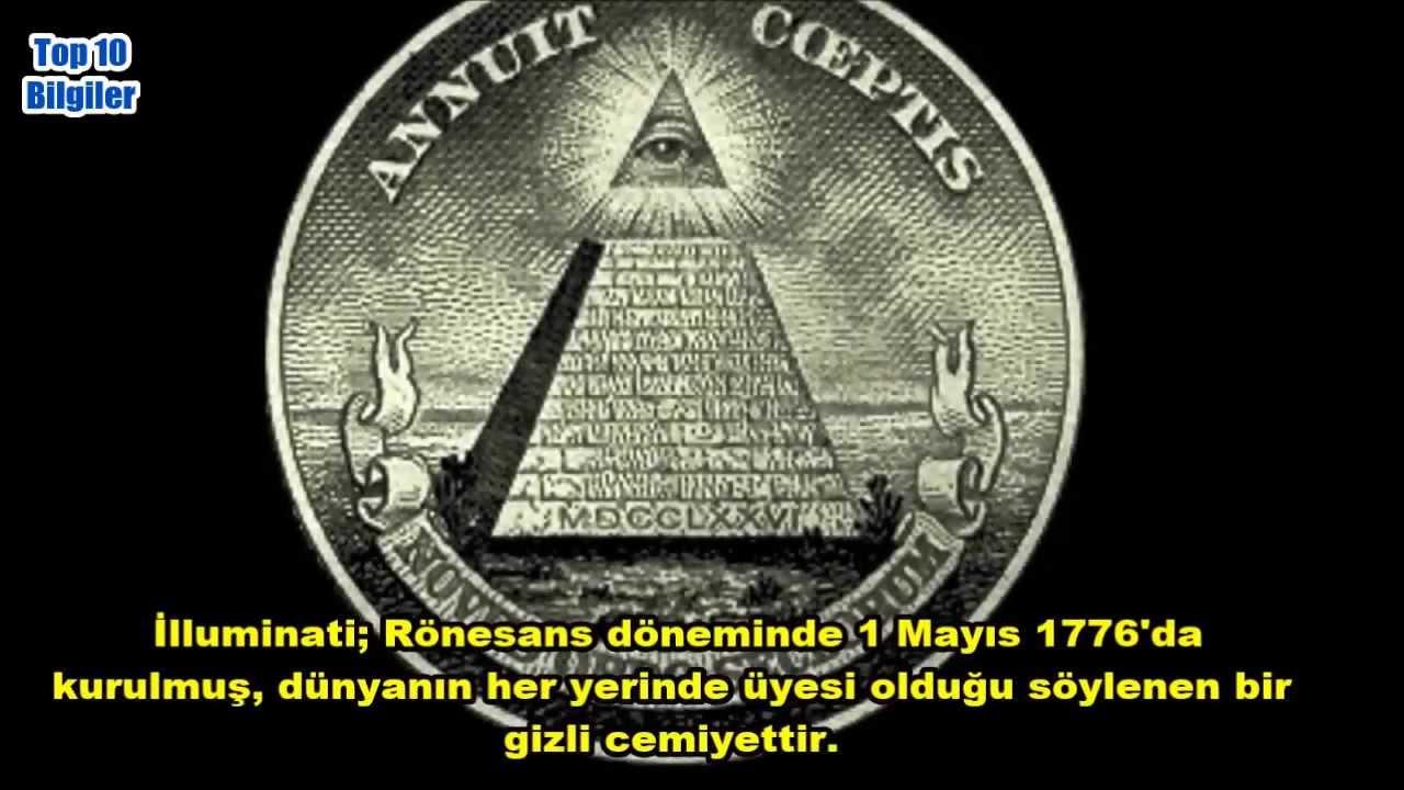 Illuminati Ve Benzeri 10 Gizli örgüt Youtube