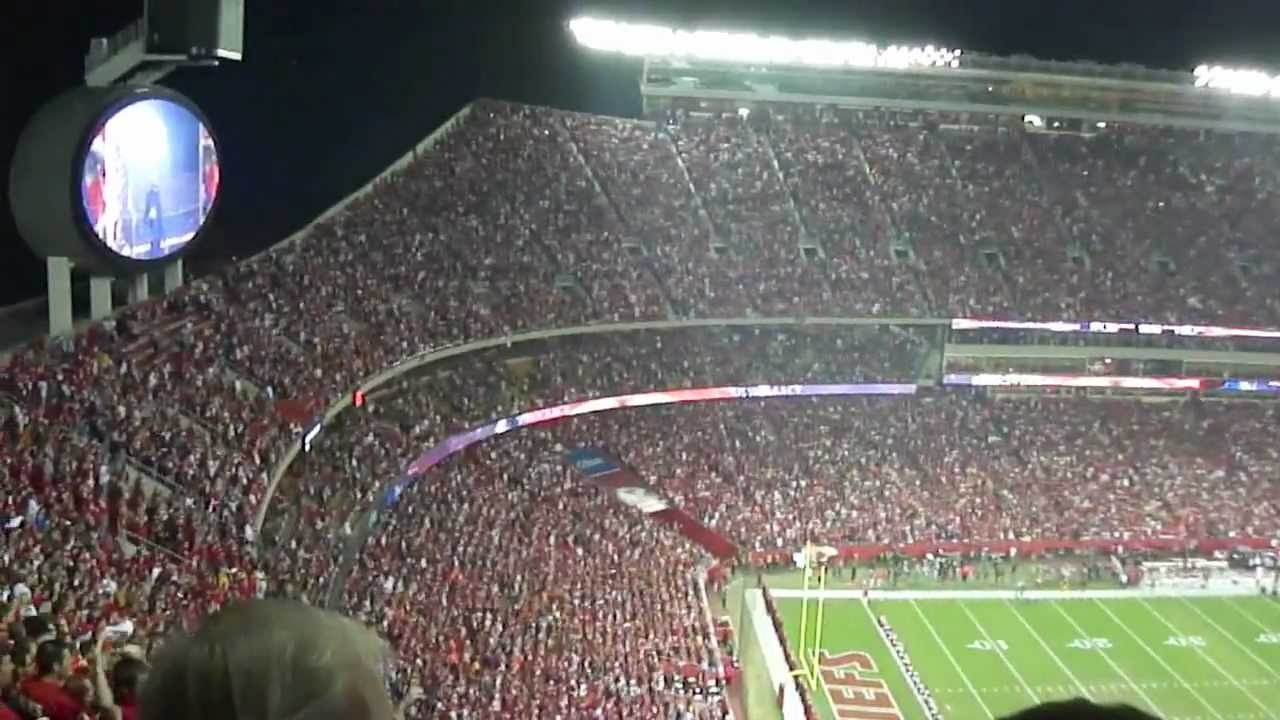 Kansas city chiefs virtual arrowhead experience 10 31 2011 youtube