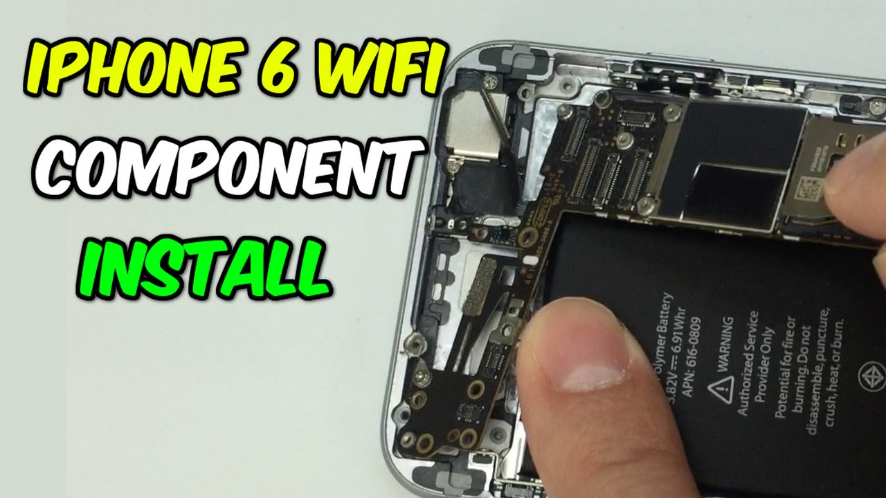 iphone gps not working iphone 6 wifi and gps component installation 6347
