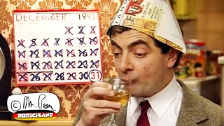 Neujahrsparty mit Mr. Bean
