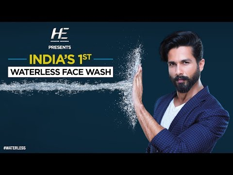HE Waterless Face Wash feat. Shahid Kapoor