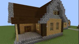 casa medieval minecraft como fazer
