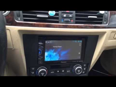 hqdefault how to install an after market radio into bmw 328i e90 youtube  at crackthecode.co