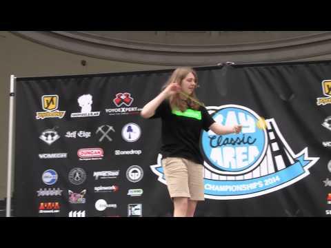 2014 BAC Yo-Yo Championships - 4A - 8th - Stephanie Haight
