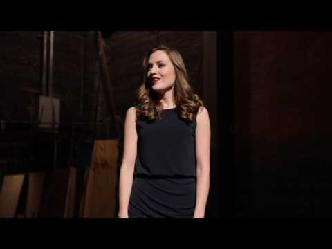 "Laura Osnes singing ""Welcome Home"""