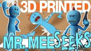 Mr Meeseeks  3D Printing Rick and Morty Stuff