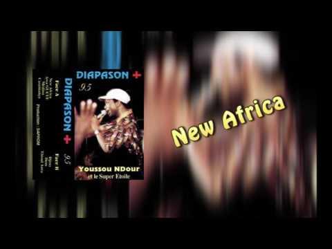 YOUSSOU NDOUR - NEW AFRICA - ALBUM DIAPASON +95