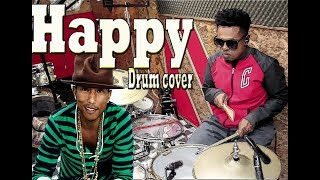 Pharrel Williams- HaPPY- DRUM COVER