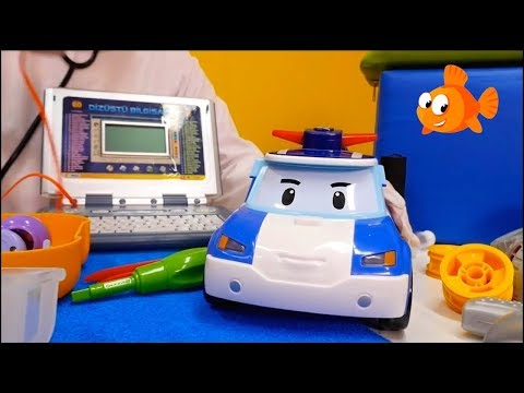 Doctor Carz - CAR HOSPITAL - Computer Test! - Videos for kids - Toy Cars for kids - 동영상