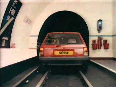 1980s UK TV Advert Vauxhall Nova
