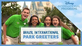 Brazil International Park Greeters - Disney International Programs