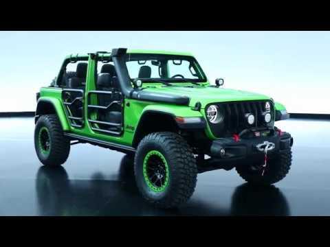 Jeep Wrangler JL by Mopar - YouTube