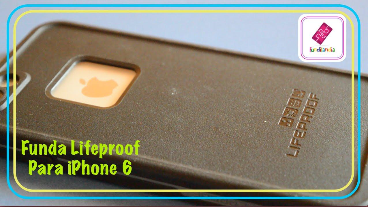 Review funda lifeproof para iphone 6 youtube - Fundas lifeproof ...