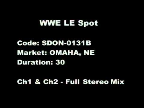WWE - Omaha Commercial
