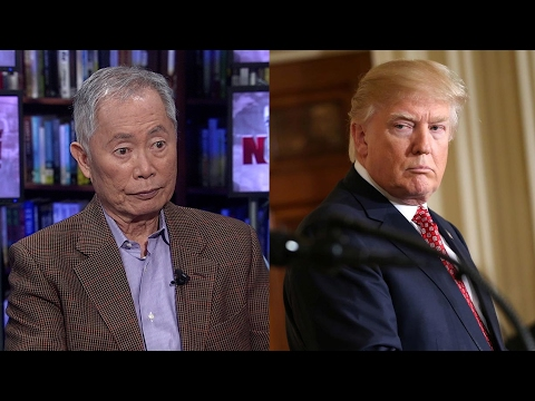 """George Takei on 75th Anniv. of Internment of Japanese Americans & Why Trump is """"The Real Terrorist"""""""