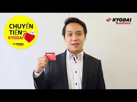 Kyodaivietnam Tiếng Việt - HƯỚNG DẪN CHUYỂN TIỀN BẰNG THẺ KYODAI