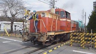 【EF210/EF65】高崎線 倉賀野 貨物列車 入換・着発【DE10】