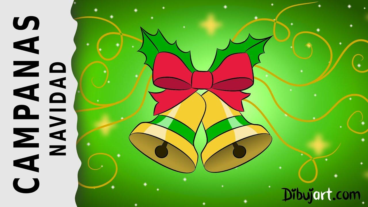 C mo dibujar unas campanas de navidad con m sica navide a - Campanas de navidad ...