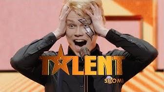 Aapo-ilmakitaristille kultainen nappi Jorma Uotiselta | Talent Suomi | MTV3