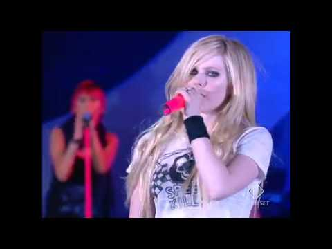 Avril Lavigne - Girlfriend - Festivalbar 2007