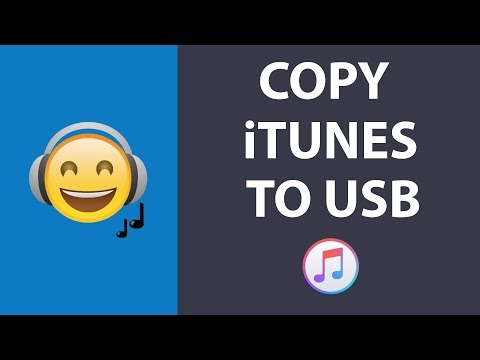 How To Copy Your iTunes Music Library To USB Flash Drive