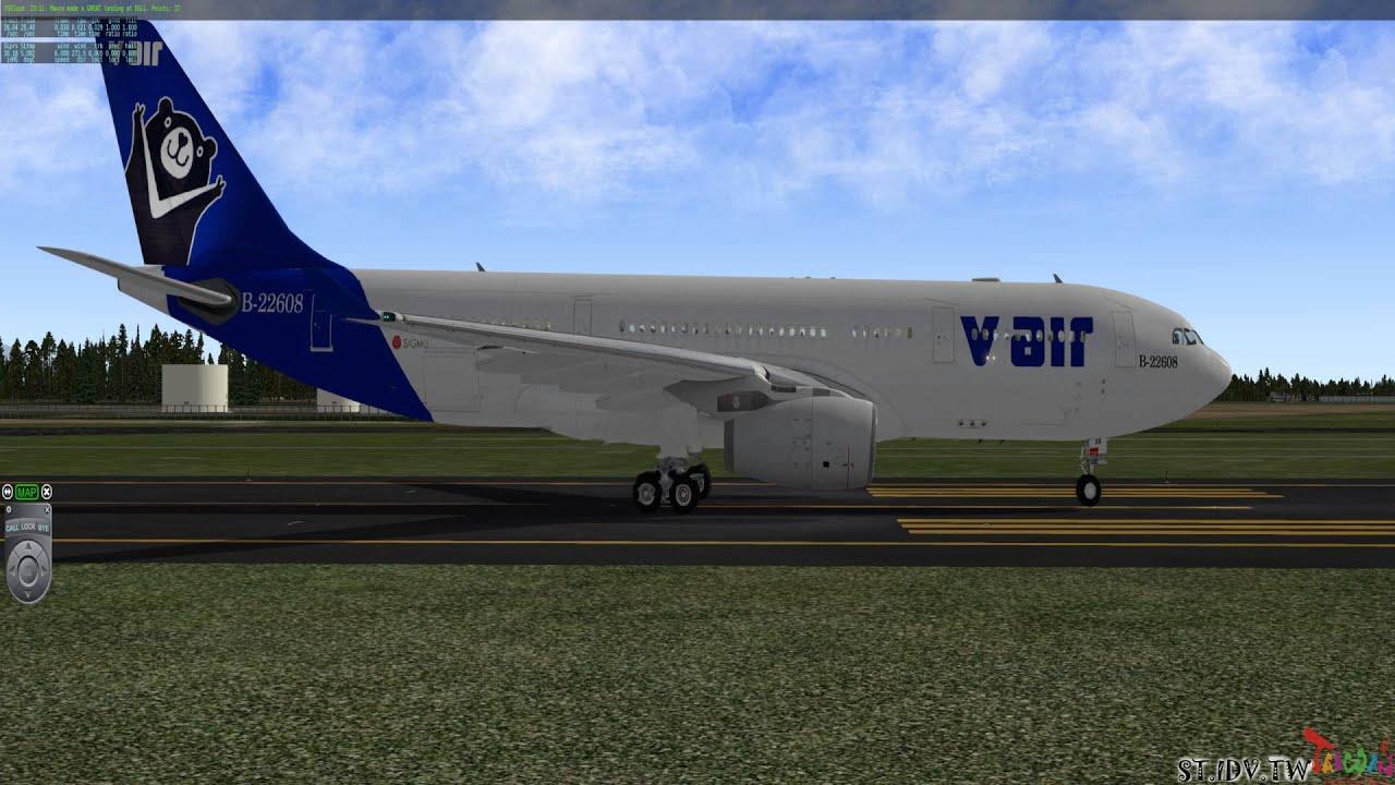 X Plane 10 JARDesign A330 243 V Air 威航 RJSN 新潟機場 RJCH 函館機場 2016 03 25 23 00  32 567