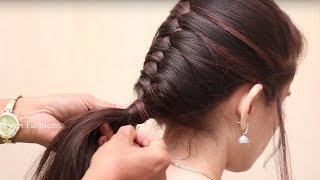 New Braid Hairstyle for School Girls/Everyday Hairstyle for School Girls 2018/Easy Summer Hairstyles