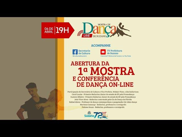 SIM É POSSÍVEL - Abertura da Mostra e Conferência de Dança de Suzano