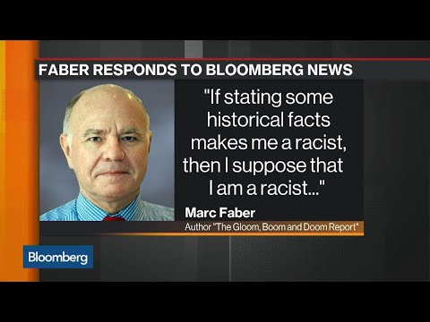 Marc Faber Resigns From Sprott Board After Racist Report