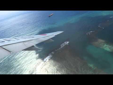 JAL B777-200ER (JA711J) Honolulu Airport takeoff !