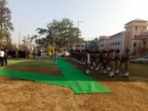 Ripblic day Ranchi college