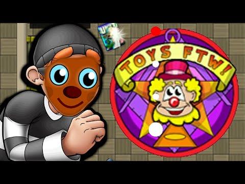 ROBBING A TOY SHOP! - Robbery Bob #8