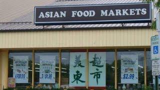 いつも行っているアジアン・マーケットです!日本の食べ物、韓国の食べ...