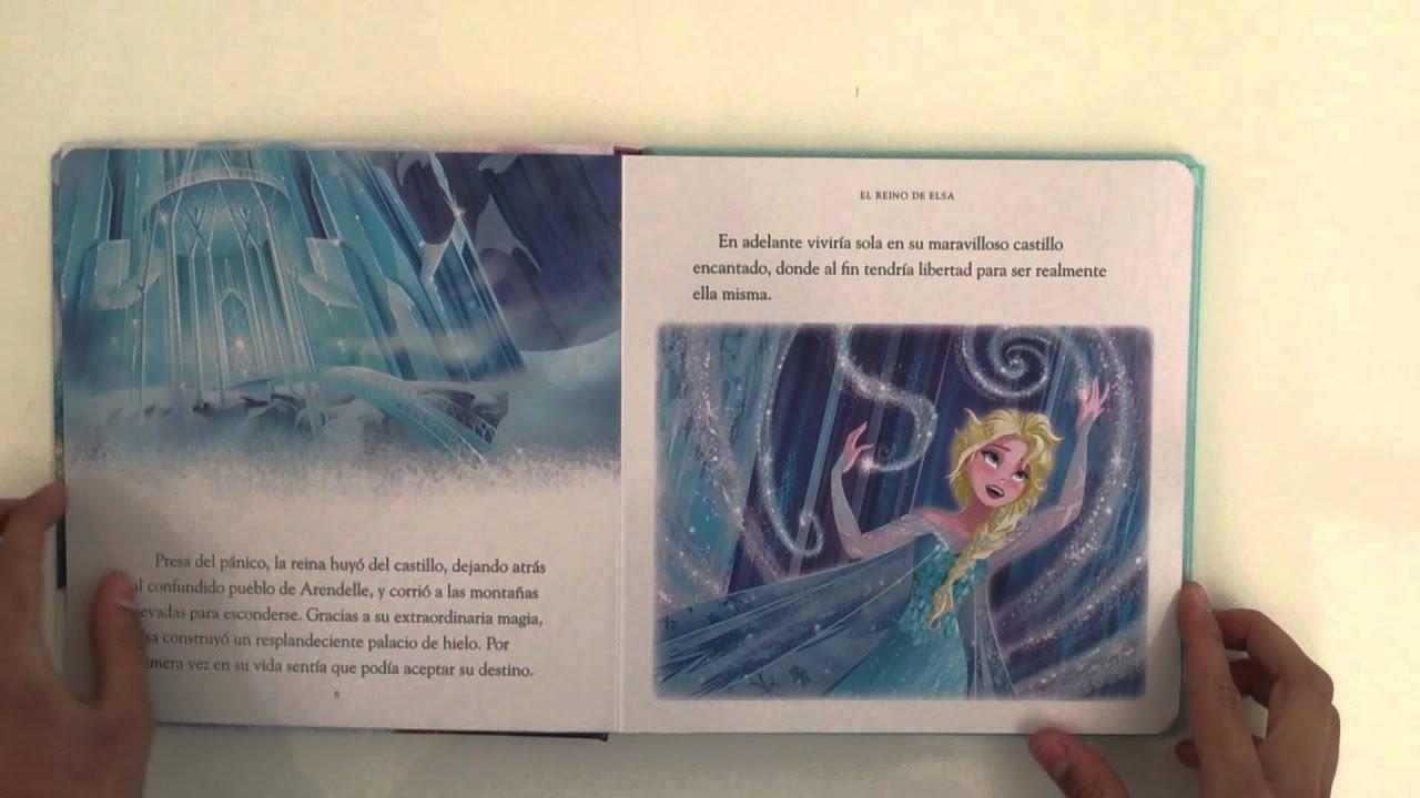 Libro Infantil Frozen una aventura congelada - YouTube