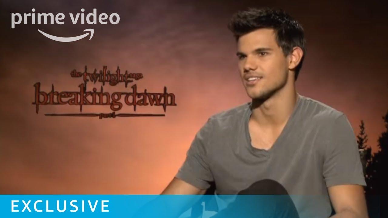 Breaking Dawn Taylor Lautner Interview ...
