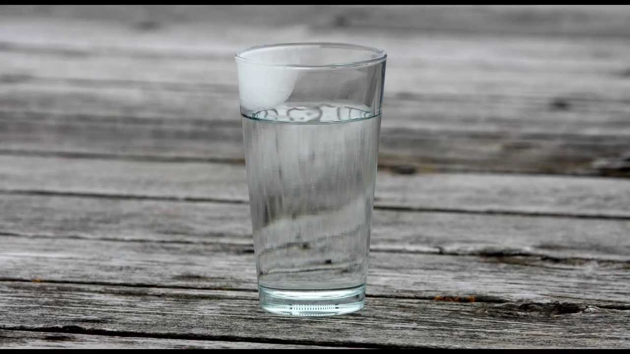 time lapse test freezing a glass of water youtube