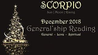 SCORPIO | Give Space With Grace! Dec 2018 Love, Spiritual, & General Tarot Reading