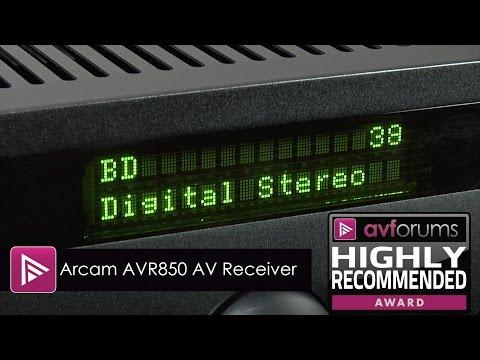 Arcam AVR850 7-Channel AV Receiver Review