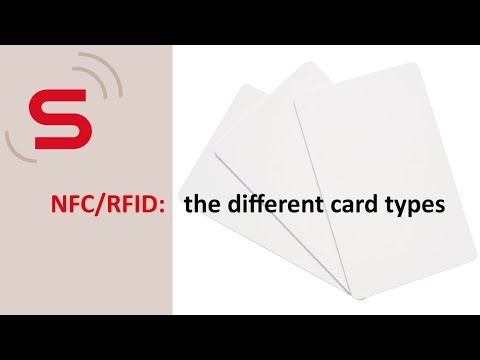 NFC/RFID: The Different Card Types